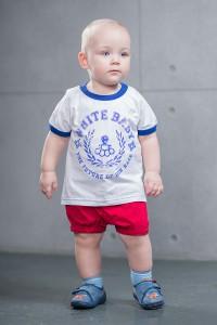 SVA STONE дитяча футболка WHITEBABY