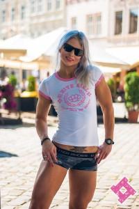 SVA STONE ФУТБОЛКА WHITE GIRL (Pink Edition)